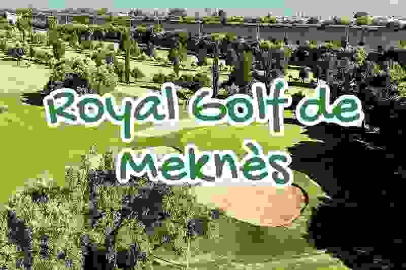 royal, golf, club, meknes, maroc