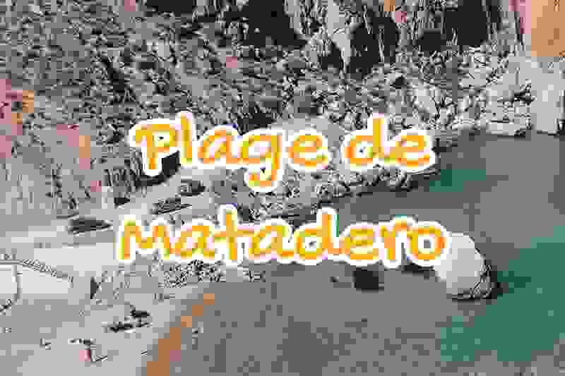 plage, matadero, al, hoceima, maroc
