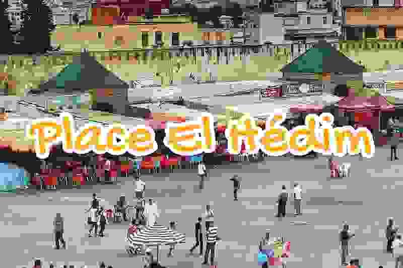place, el, hedim, square, meknes, maroc