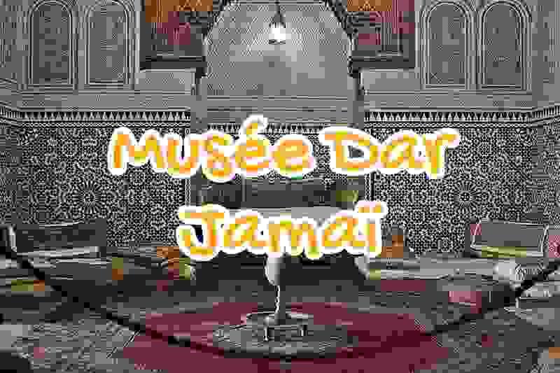 musee, dar, jamai, meknes, maroc