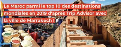 maroc, top, destinations, mondiales, 2019, trip, advisor, ville, marrakech