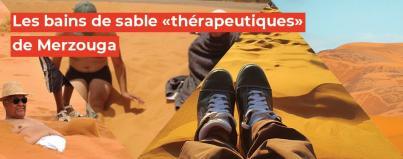 bains, sable, therapeutiques, merzouga, maroc