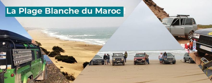 plage blanche maroc