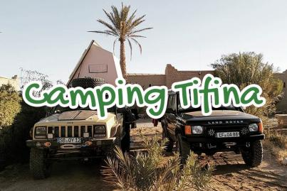 camping, tifina, arfoud, maroc