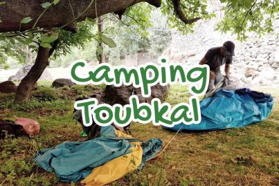 camping, auberge, toubkal, maroc