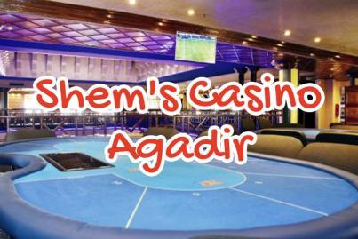 shem, s, casino, agadir, maroc