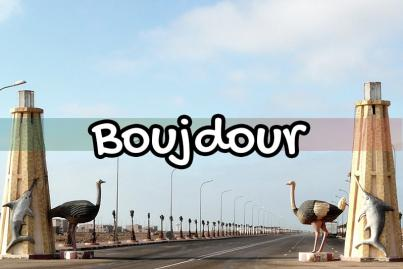 boujdour, maroc