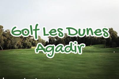 golf, club, med, dunes, agadir, maroc