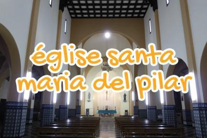 eglise, santa, maria, del, pilar, larache, maroc