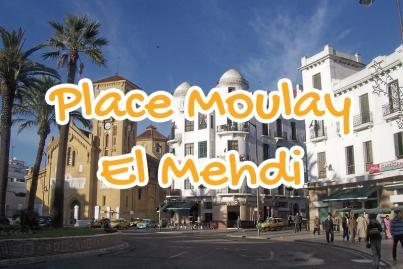 place, moulay, el, mehdi, tetouan, maroc