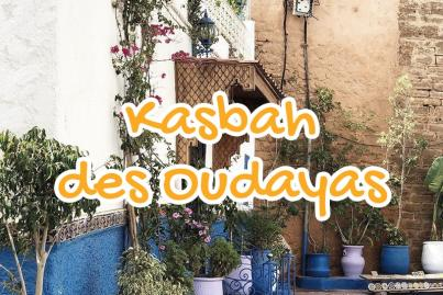 kasbah, des, oudayas, rabat, maroc