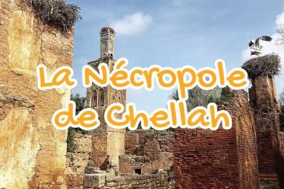 necropole, chellah, rabat, maroc