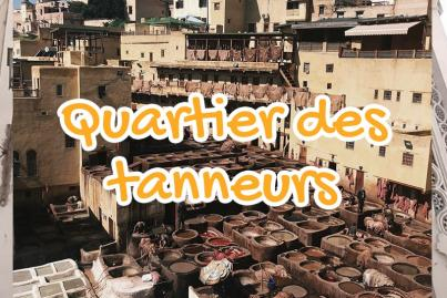 quartier, des, tanneurs, fes, maroc