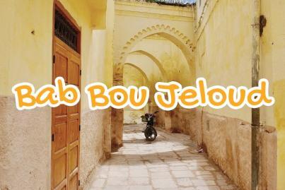 quartier, bab, bou, jeloud, fes, maroc
