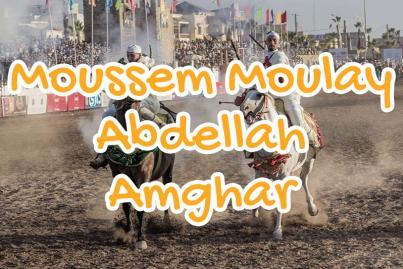moussem, moulay, abdellah, amghar, el, jadida, maroc