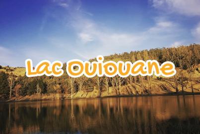 lake, ouiouane, khenifra, morocco