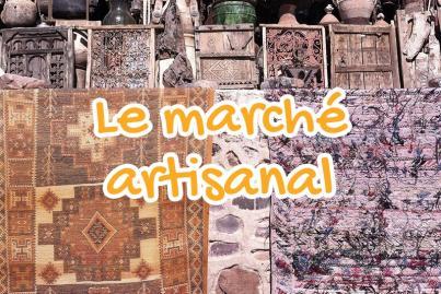 marche, artisanal, ouarzazate, maroc