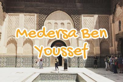 medersa, ben, youssef, marrakech, maroc