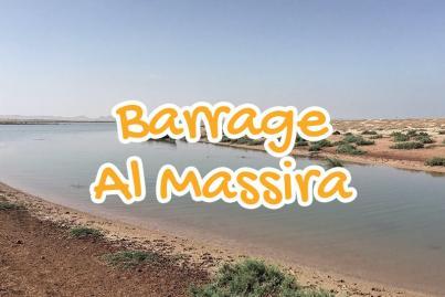 barrage, al, massira, rhamna, maroc