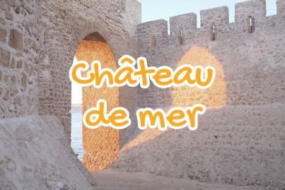 chateau, mer, safi, maroc
