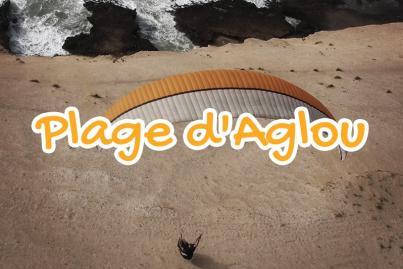 plage, aglou, maroc