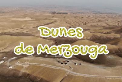 dunes, de, merzouga, erg, chebbi, errachidia, maroc