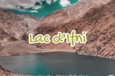lac, ifni, maroc