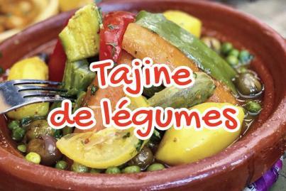 Traditional vegetable tagine