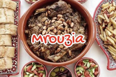 Mrouzia, Lamb Tagine with Raisins