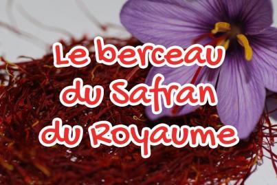 Le berceau du Safran du Royaume